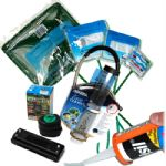 Aquarium Maintanance- Nets, Algae cleaners, silicone,gravel cleaners, cable tidies etc